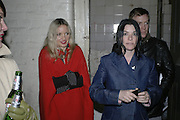 Tree Carr and Sue Webster, Potential and Ground. 1 Chiltern St. London. 7 February 2007.  -DO NOT ARCHIVE-© Copyright Photograph by Dafydd Jones. 248 Clapham Rd. London SW9 0PZ. Tel 0207 820 0771. www.dafjones.com.