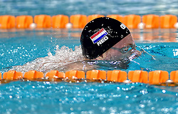 02-04-2015 NED: Swim Cup, Eindhoven<br /> Sebas van Lith 400m wissel<br /> Photo by Ronald Hoogendoorn / Sportida