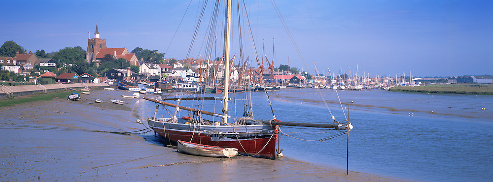 Great Britain England East Anglia Essex Maldon Hythe Quay River Blackwater Scenic