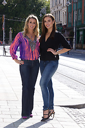 18th September 2017<br /> <br /> (L-R) Chanelle McCoy and Holly Carpenter were on hand to help Fighting Blindness Ireland launch their annual fundraising campaign, Jeans for Genes Day September 22nd.<br /> Jeans for Genes is a campaign were by Fighting Blindness ask the people of Ireland to wear jeans for a day, in all walks of life, and try raise funds to help cure genetic sight loss.<br /> The launch took place in 37 Dawson Street in Dublin. 37 and its seventeen sister venues will all be taking part in the campaign. The staff in all 18 venues will be wearing Blue Jeans for the day and selling Blue Cocktails with all proceeds going to the charity.<br />  <br /> PIC: Lensmen