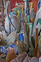 Art glass factory sample seen in Ubud, Bali, Indonesia