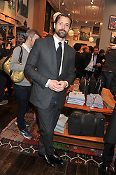 PATRICK GRANT at the opening of the new Jack Spade store at 83 Brewer street, London on 29th March 2012.