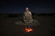 Djimi Elghalia, 48, vice president of the Saharawi Association of Victims of .Grave Human Rights Violations Committed by the Moroccan State (ASVDH), pictured near El Aaiún city, in Moroccan controlled Western Sahara (Saharawi Arab Democratic Republic)...I was born in Agadir, Morocco in 1961. My family were among many who fled the climate and social conditions in Western Sahara to look for work in Morocco. A lot of Saharawis used to stay at our home and because of this my grandmother was arrested in 1984. She was sixty. We never saw her again. In 1986 I moved to El Aaiún for work after I graduated in agriculture. The next year I was arrested along with five hundred others for trying to organise a demonstration on independence before a big United Nations visit. They held eighty including nineteen women. They interrogated me and used physical and psychological torture. They would put chemicals in my hair which made me faint. I was electrocuted on the arms and back and was bitten by dogs. Later they would laugh and say that there are no dogs and I must be imagining things. It was the same thing you see in Iraq but here we have no media attention to show it...I was released in 1991 along with three hundred and twenty four people, some of whom had been held since the invasion, seventy eight were women. It was because of pressure from international organisations like Amnesty International. From 1994-98 we, the victims, tried to engage in the field of human rights but we faced a lot of harassment. In 2005 we established the Saharawi Association of Victims of Grave Human Rights Violations Committed by the Moroccan State (ASVDH) . The Moroccan authorities prevent the association from working despite the court allowing us to work. We work from our homes using the internet and we host international visitors but still Morocco harass us and now foreigners are not allowed to visit us...We have a conviction that we will achieve independence but it depends on international pressure,