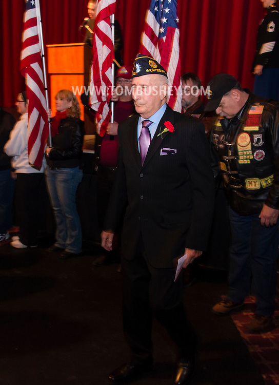 "Middletown, New York - Premiere of the documentary film  ""Hudson Valley Honor Flight - Generation Bridge"" at the Paramount Theatre on March 7, 2015."