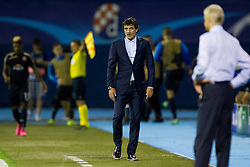 Zoran Mamic, head coach of GNK Dinamo Zagreb during football match between GNK Dinamo Zagreb, CRO and Arsenal FC, ENG in Group F of Group Stage of UEFA Champions League 2015/16, on September 16, 2015 in Stadium Maksimir, Zagreb, Croatia. Photo by Urban Urbanc / Sportida