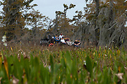 Airboat, Louisiana swamp/bayou