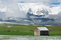 Old barn in the Wallowa Valley of Northeast Oregon