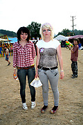 Two Emo Girls at the Workhouse Festival, Wales, 2006