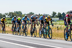 Peloton with Koen Bouwman of Team LottoNL-Jumbo at 2018 National Road Race Championships Netherlands for Men Elite, Hoogerheide, The Netherlands, 1 July 2018. Photo by Pim Nijland / PelotonPhotos.com | All photos usage must carry mandatory copyright credit (Peloton Photos | Pim Nijland)