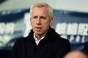 West Bromwich Albion manager Alan Pardew during the Premier League match between West Bromwich Albion and Southampton at The Hawthorns, West Bromwich, England on 3 February 2018. Picture by Dennis Goodwin.