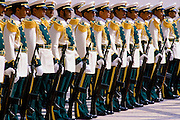 Military parade in Riyadh, Saudi Arabia