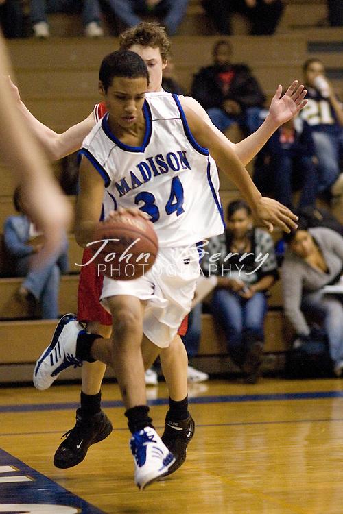 MCHS JV Boys Basketball .vs George Mason.January 25, 2007