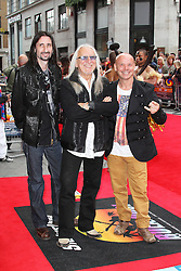 Uriah Heep, Bula Quo UK film premiere, Odeon West End cinema Leicester Square, London UK, 01 July 2013, (Photo by Richard Goldschmidt)