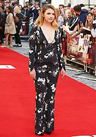 Hannah Murray, Detroit - European Film Premiere, Curzon Mayfair, London UK, 16 August 2017, Photo by Brett D. Cove