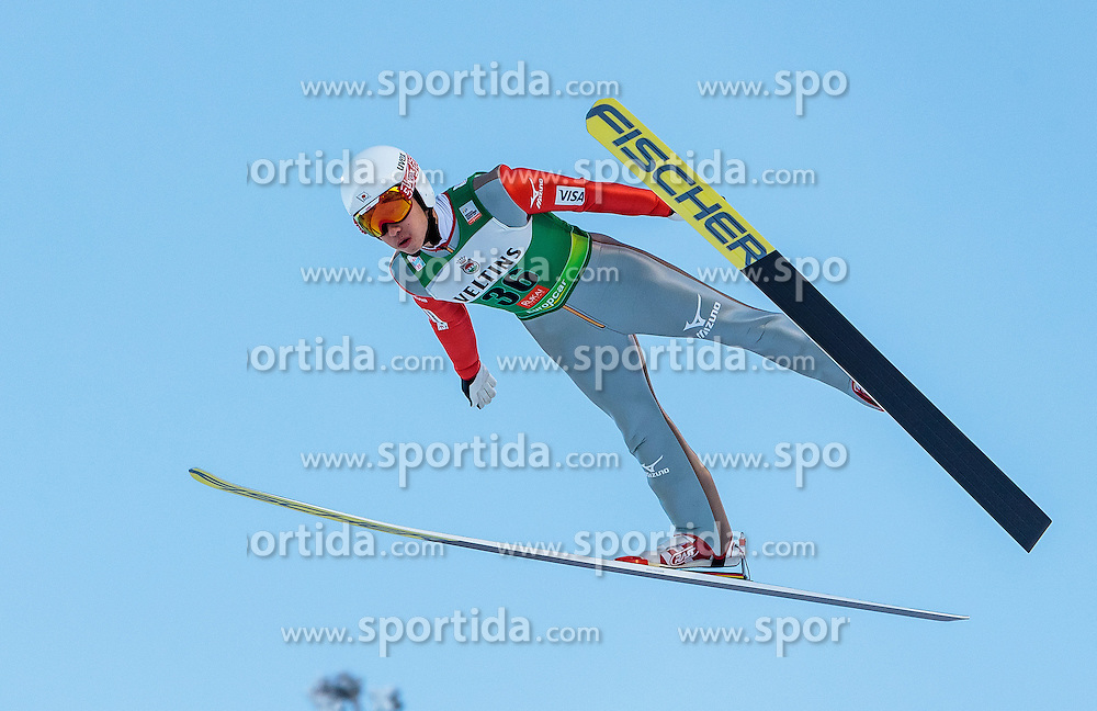 25.11.2016, Nordic Arena, Ruka, FIN, FIS Weltcup Nordische Kombination, Nordic Opening, Kuusamo, Skisprung, im Bild Hideaki Nagai (JPN) // Hideaki Nagai (JPN) during Skijumping of FIS Nordic Combined World Cup of the Nordic Opening at the Nordic Arena in Ruka, Finland on 2016/11/25. EXPA Pictures © 2016, PhotoCredit: EXPA/ JFK