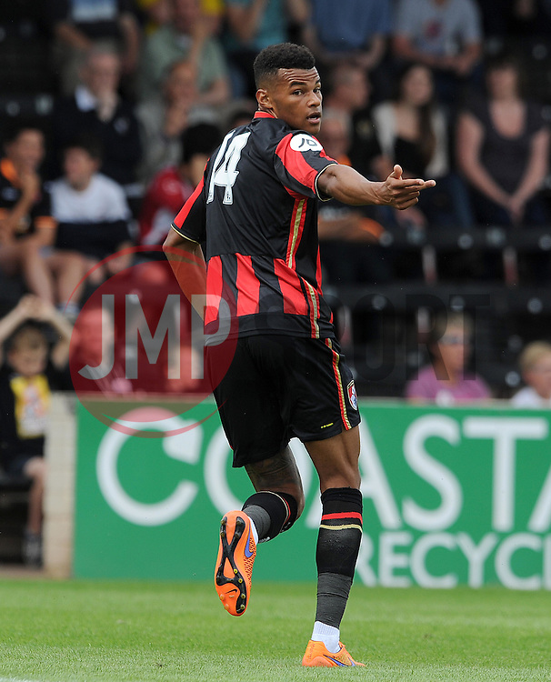 Bournemouth's Tyrone Mings. - Photo mandatory by-line: Harry Trump/JMP - Mobile: 07966 386802 - 18/07/15 - SPORT - FOOTBALL - Pre Season Fixture - Exeter City v Bournemouth - St James Park, Exeter, England.