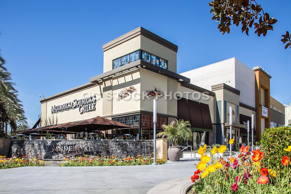 McCormick & Schmick's Grill at the Garden Walk in Anaheim