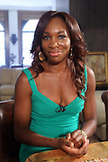 7 July 2010- New York, NY- Venus Williams at video taping of ' Come to Win ' with Tennis Icon Venus Williams at undisclosed location as she begins her promotion of her new book ' Come to Win ' published by HarperCollins on July 7, 2010 in New York City.