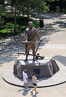 Cincinnatus Statue at Sawyer Point