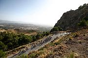 Illustration peloton, Scenery during the UCI World Tour, Tour of Spain (Vuelta) 2018, Stage 4, Velez Malaga - Alfacar Sierra de la Alfaguara 161,4 km in Spain, on August 28th, 2018 - Photo Luca Bettini / BettiniPhoto / ProSportsImages / DPPI