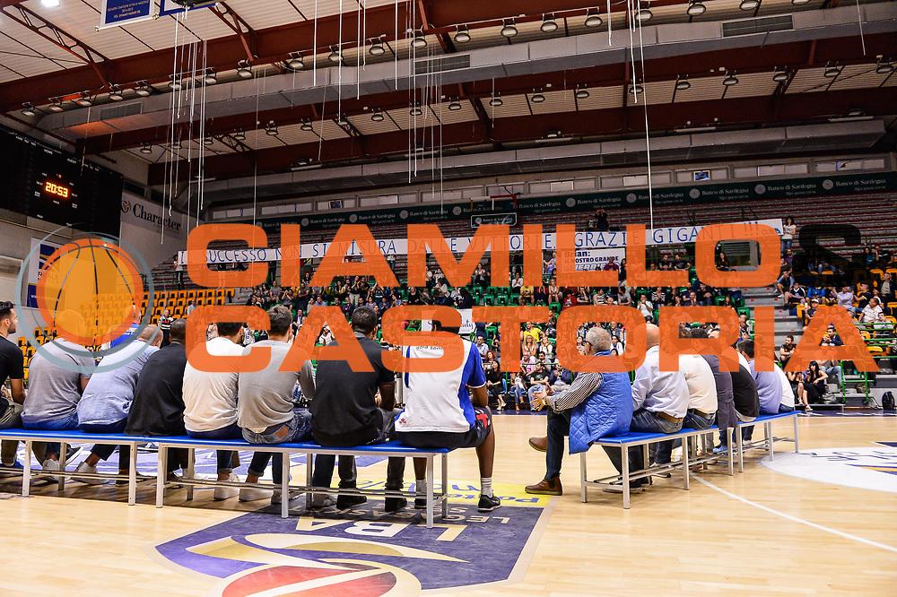 Panoramica Banco di Sardegna Dinamo Sassari<br /> Saluti Finali Banco di Sardegna Dinamo Sassari<br /> Legabasket Serie A LBA Poste Mobile 2016/2017<br /> Sassari 18/05/2017<br /> Foto Ciamillo-Castoria