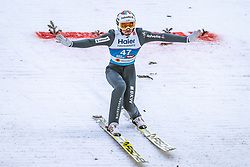22.02.2019, Bergiselschanze, Innsbruck, AUT, FIS Weltmeisterschaften Ski Nordisch, Seefeld 2019, Skisprung, Herren, im Bild Killian Peier (SUI) // Killian Peier of Switzerland during the men's Skijumping of FIS Nordic Ski World Championships 2019. Bergiselschanze in Innsbruck, Austria on 2019/02/22. EXPA Pictures © 2019, PhotoCredit: EXPA/ Dominik Angerer
