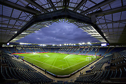 LEICESTER, ENGLAND - Monday, February 1, 2016: A general view of the King Power Stadium before the Premier League match between Leicester City and Liverpool at Filbert Way. (Pic by David Rawcliffe/Propaganda)