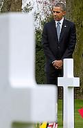 President Obama Visits American Cemetery, Waregem