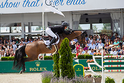 Patteet Gudrun, BEL, Sea Coast Pebles Z<br /> Grand Prix Rolex powered by Audi <br /> CSI5* Knokke 2019<br /> © Dirk Caremans<br /> Patteet Gudrun, BEL, Sea Coast Pebles Z