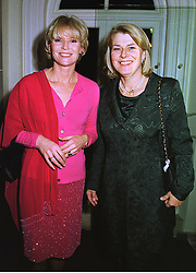 Left to right, MRS JOHN ANSTRUTHER-GOUGH-CALTHORPE and MRS RONALD FERGUSON step mother of the Duchess of York, at a party in London on 4th November 1998.MLO 54