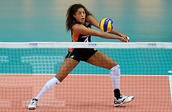 01-10-2014 ITA: World Championship Volleyball Servie - Nederland, Verona<br /> Nederland verliest met 3-0 van Servie em is uitgeschakeld voor de final 6 / Celeste Plak