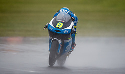 October 21, 2016 - Melbourne, Victoria, Australia - Italian rider Nicolo Bulega (#8) of Sky Racing Team VR46 in action during the 1st Moto3 Free Practice session at the 2016 Australian MotoGP held at Phillip Island, Australia. (Credit Image: © Theo Karanikos via ZUMA Wire)