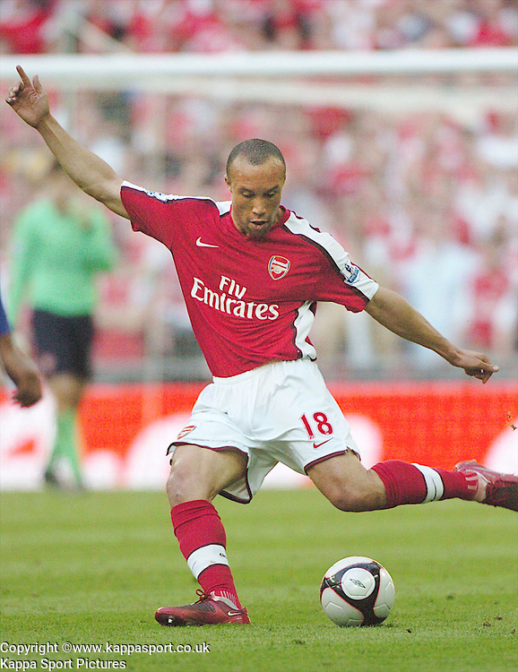 MIKAEL SILVESTRE, ARSENAL, Arsenal v Chelsea, FA Cup Semi Final, Wembley Stadium, Saturday 18th April 2009