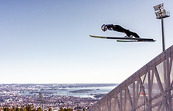 10.03.2019, Holmenkollen, Oslo, NOR, FIS Weltcup Skisprung, Raw Air, Oslo, Einzelbewerb, Herren, im Bild Daniel Huber (AUT) // Daniel Huber of Austria during the men's individual competition of the Raw Air Series of FIS Ski Jumping World Cup at the Holmenkollen in Oslo, Norway on 2019/03/10. EXPA Pictures © 2019, PhotoCredit: EXPA/ JFK