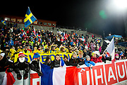 &Ouml;STERSUND, SVERIGE - 2017-12-03: Vy &ouml;ver &Ouml;stersunds Skidstadion under herrarnas jaktstart t&auml;vling under IBU World Cup Skidskytte p&aring; &Ouml;stersunds Skidstadion den 2 december 2017 i &Ouml;stersund, Sverige.<br /> Foto: Johan Axelsson/Ombrello<br /> ***BETALBILD***