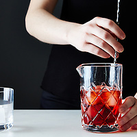 Stirring cocktail