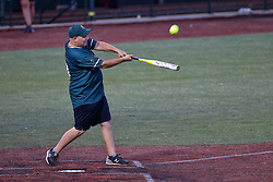 04 August 2018: RC McBride. Legends Game for the Miracle League at Corn Crib Stadium on the campus of Heartland Community College in Normal Illinois<br /> <br /> Game featured retired MLB players from the ST. Louis Cardinals and the Chicago Cubs...  Derek Lee, Bobbie Dernier, Kyle Farnsworth, Les Lancaster, Ray Lankford, Kerry Robinson, Jim Edmonds, and Aramis Ramirez