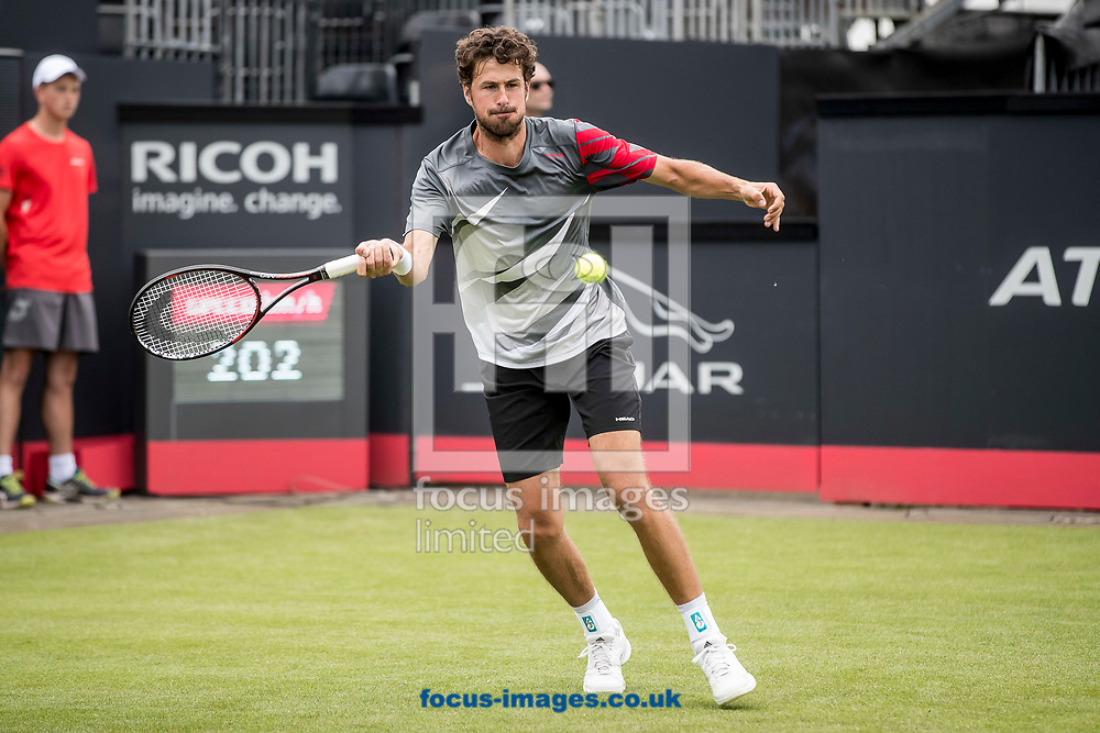 Robin Haase (NED) on day two of the Ricoh Open Tennis Tournament at the Autotron, Rosmalen, Netherlands.<br /> Picture by Joep Joseph Leenen/Focus Images Ltd +316 5261929<br /> 13/06/2017<br /> ***NETHERLANDS OUT***