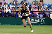 Konta (GBR) Vs Jabeur (TUN)  Action at the Nature Valley International 2019 at Devonshire Park, Eastbourne, United Kingdom on 26th June 2019. Picture by Jonathan Dunville