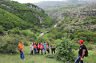 In 1992, the Karabakhi forces started to implement their plan to re-take Shushi and stop the continued bombardment and blockading of Stepanakert, and Artsakh. In May 2012 a group of largely young people from Stepanakert and Shushi, under guidance from the original Commanding Officers, re-traced the footsteps of the 1992 Liberation Forces ending up at the main church in Shushi. A bright and fun day, important to remember, and iconic for the people of Artsakh. People from Georgia and England joined the walk.