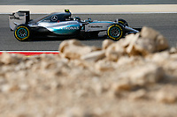 ROSBERG nico (ger) mercedes gp mgp w06 action during 2015 Formula 1 FIA world championship, Bahrain Grand Prix, at Sakhir from April 16 to 19th. Photo Florent Gooden / DPPI