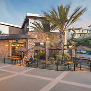 Edinger Architects, Patrick Edinger, San Marcos, California, Campus Pointe II, Shopping Center, The Bellows Restaurant, Strategic Asset Management Group, Modern Architecture, Retail Design, Classic Architecture, San Diego, Architectural Photography, John Durant Photographer, San Diego Architectural Photographer, Southern California Architectural Photographer