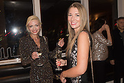 LANA HOLLOWAY; CRISTINA RAPTIS Liz Brewer Festive Celebration hosted by Daphne Mckinley Edwards chairman of the Sean Edwards , Foundation at Altitude. Millbank Tower, London SW1. 3 DECEMBER 2016.