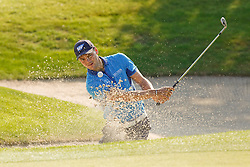 26.06.2014, Golf Club Gut Laerchenhof, Pulheim, GER, BNW International Golf Open, im Bild Martin Kaymer (US Open Sieger 2014) mit einem Schlag aus dem Bunker // during the International BMW Golf Open at the Golf Club Gut Laerchenhof in Pulheim, Germany on 2014/06/26. EXPA Pictures © 2014, PhotoCredit: EXPA/ Eibner-Pressefoto/ Schueler<br /> <br /> *****ATTENTION - OUT of GER*****