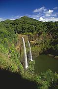 Wailua Falls, Wailua, Kauai, Hawaii, USA<br />