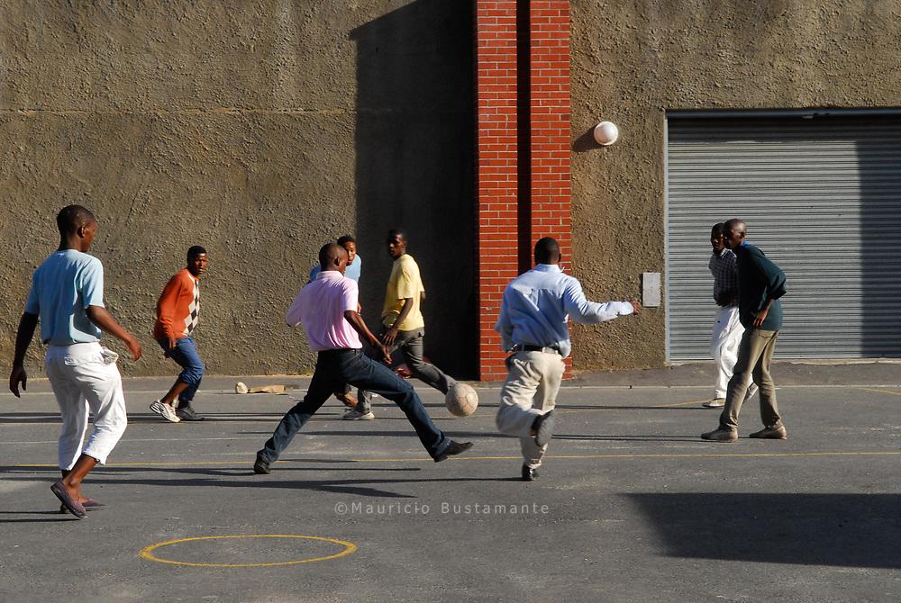 Street Soccer Cape Town.