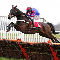 Bear's Affair and Barry Geraghty winning the 3.25 race
