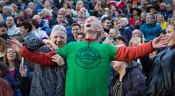 The Proclaimers at Edinburgh Castle 21 July 2019; The Proclaimers play their home town with a live show at Edinburgh Castle. His fans belt out Sunshine on Leith.<br /> <br /> (c) Chris McCluskie   Edinburgh Elite media