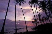 Sunset, Weligama beach, Sri Lanka