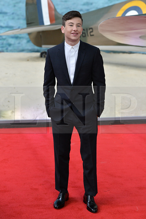 © Licensed to London News Pictures. 13/07/2017. London, UK. BARRY KEOGHAN attends the Dunkirk World Film Premiere. Photo credit: Ray Tang/LNP